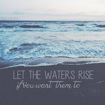 New Blog Post Called let The Waters by Hannah Chapman