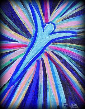 New Blue Angel with digital manipulation  by Craig Imig