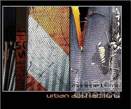 Marlene Burns - NEW BOOK urban abstractions 2013