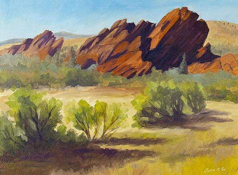 New Day Roxborough Park by Julia Grundmeier
