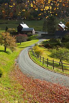 New England Farm by Jay Krishnan