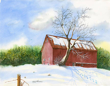 New England Snow by Robert  ARTSYBOB Havens
