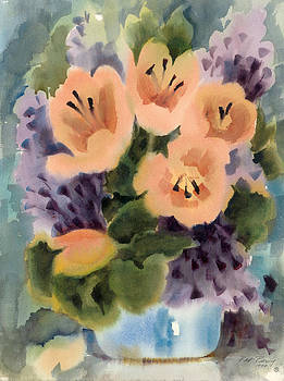 New Flowers by Pat Percy