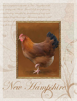 New Hampshire Hen by Bethany Caskey