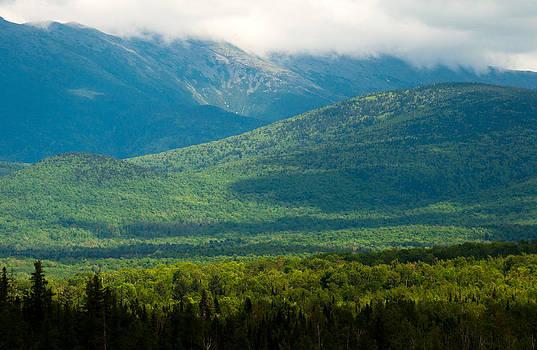 New Hampshire Mountainscape by Nancy De Flon