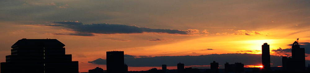 New Haven Sunset by Stephen Melcher