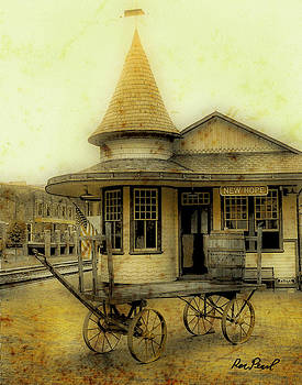 New Hope Train Station by Ron Pearl