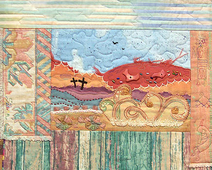New Mexican Lanscape by MtnWoman Silver