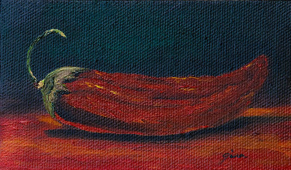 New Mexico Chili by Gina Cordova