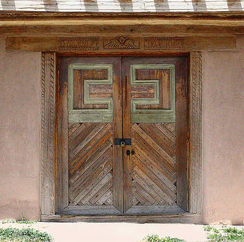 New Mexico Church Doors by Iris Page