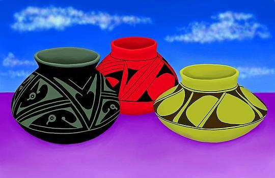 New Mexico Pots by Britton Britt Cagle