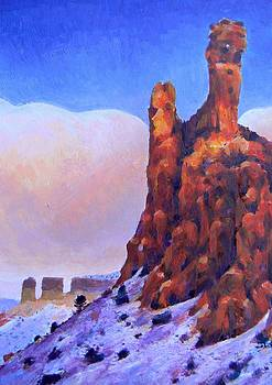 New Mexico Red Rock by Deliara Yesieva