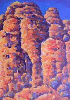 New Mexico Red Rocks by Deliara Yesieva