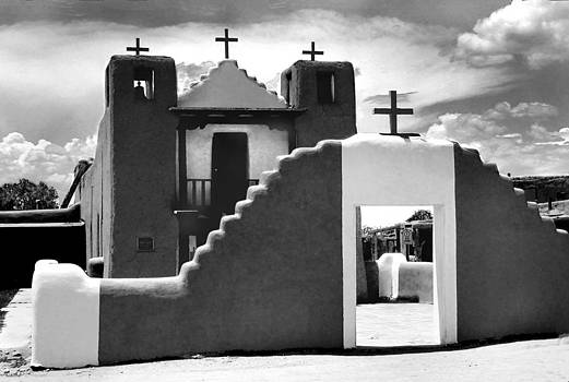New Mexico Spanish Design church by Bill Marder