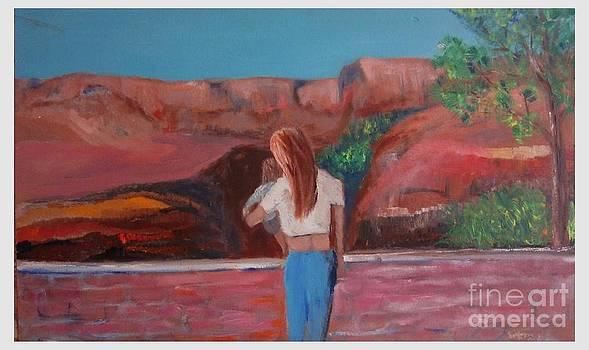 New Mexico View by Joseph Wetzel