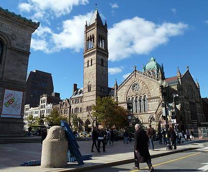 New Old South Church Boston by Merridy Jeffery
