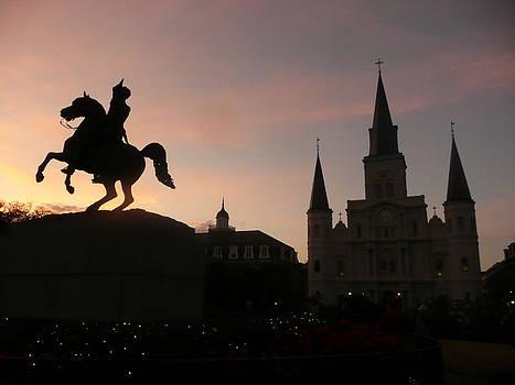 New Orleans Dusk by Vicki Genna