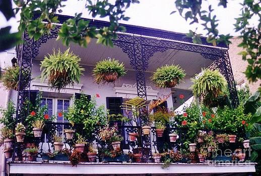 John Malone - New Orleans French Quarter Balcony