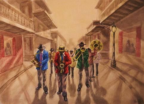 New Orleans Jazz by Raffi Jacobian