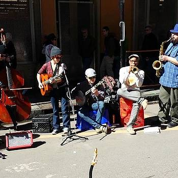 New Orleans Live Street Music by Jeremiah Adams