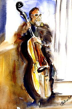 New Orleans Player by Shirley Roma Charlton