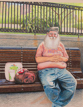 New Orleans Santa by Jolene Stinson Williams