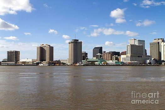 New Orleans Skyline by Steven Frame