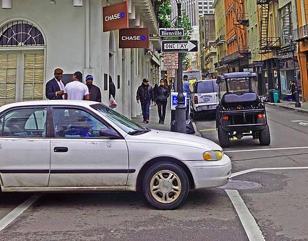 New Orleans Street Corner by Louis Maistros