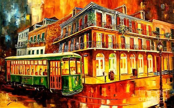 New Orleans Streetcar by Diane Millsap