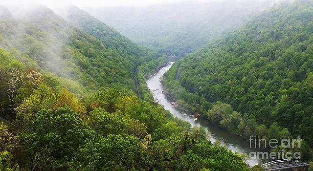 New River Gorge area WV by Tabatha Knox