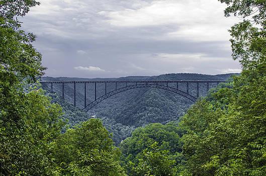 New River Gorge Bridge by Rebecca  Barray