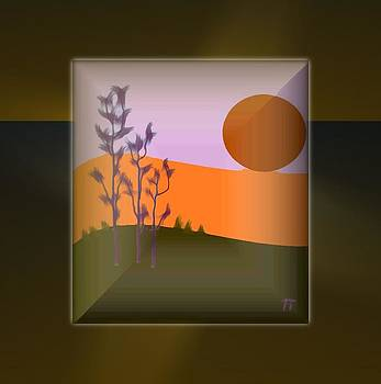 New Sunset by Ines Garay-Colomba