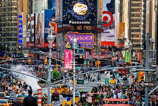 New Times Square by Andrew Kazmierski