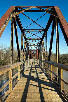 New Use For An Old Bridge by Joseph C Hinson Photography