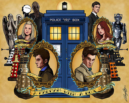 New Who by Austin Phillips