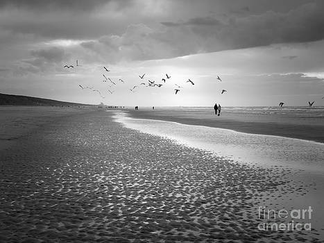 New Year Beach Day by David Hanlon