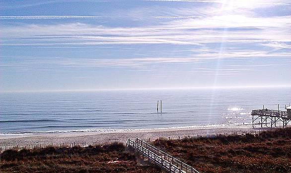 New Year Carolina Beach by Joan Meyland