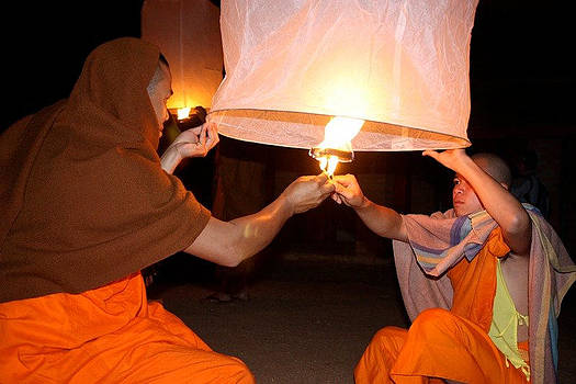 Venetia Featherstone-Witty - Monks Celebrate New Year in Laos