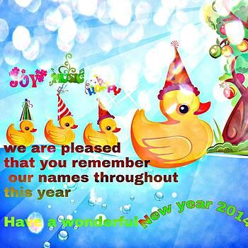New Year Greetings  by Siva Guru