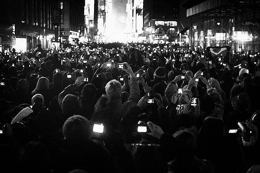 New Years Eve Phones by Dave Beckerman