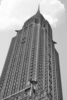 New York - BW Chrysler by Amador Esquiu Marques