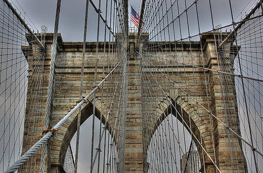 New York - HDR Brooklyn bridge by Amador Esquiu Marques