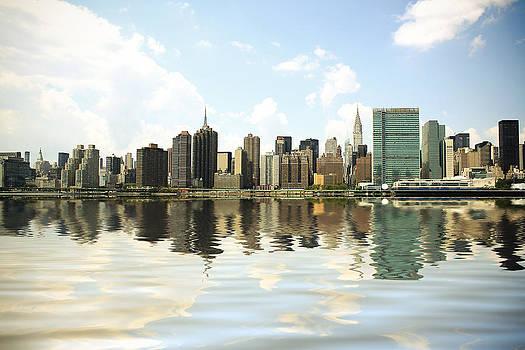 New York - Skyline II by Amador Esquiu Marques