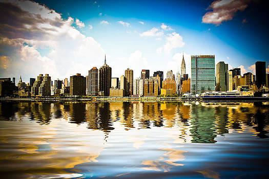 New York - Skyline III by Amador Esquiu Marques
