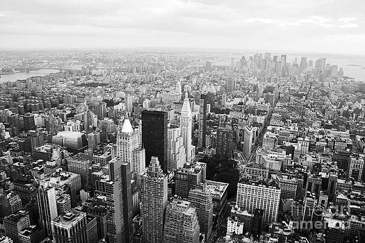 New York Skyline from the Empire State by David Gardener