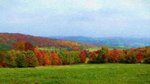 Boyd Miller - New York Autumn