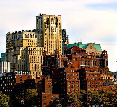 New York Buildings by Gregory Merlin Brown