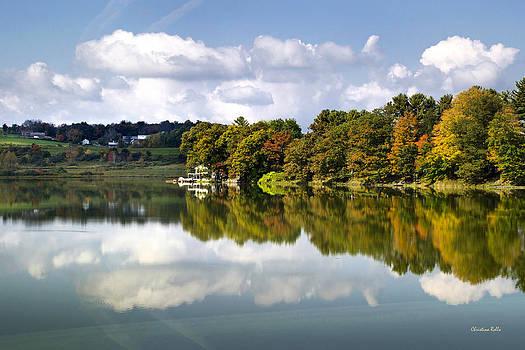 New York Cincinnatus Lake by Christina Rollo