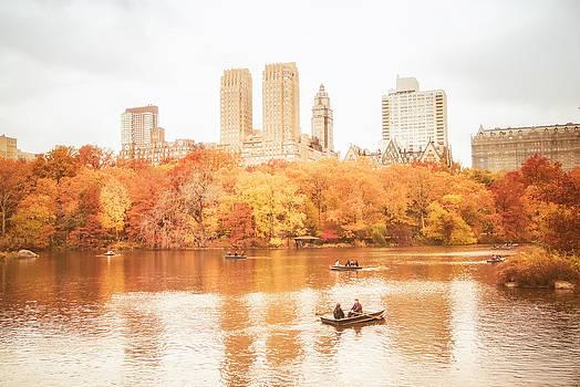 New York City - Autumn - Central Park by Vivienne Gucwa