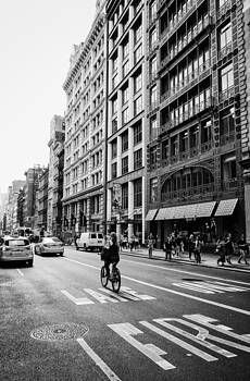 New York City Bicycle Ride - Soho by Vivienne Gucwa